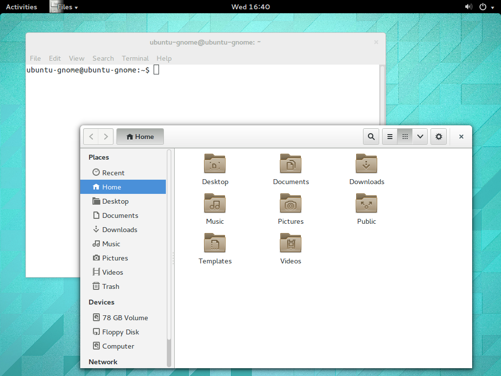 GNOME Ubuntu